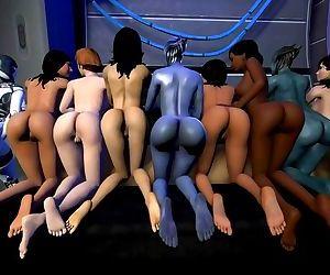 Mass Effect 3D sex..