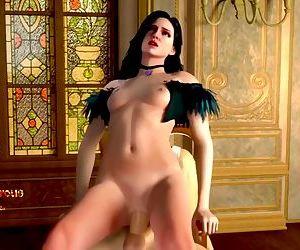 Super Sexy Body Cartoon..