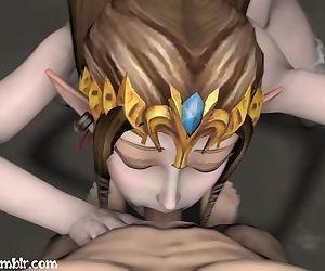 Zelda Blowjob - WITH..