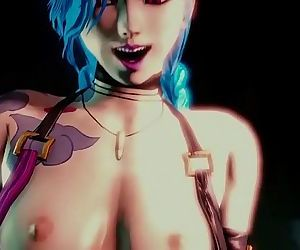 Jinx Sex with Creampie..