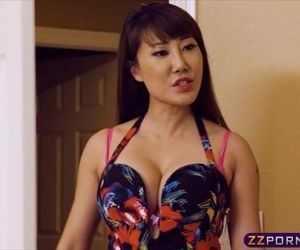 Hot asian chick got..