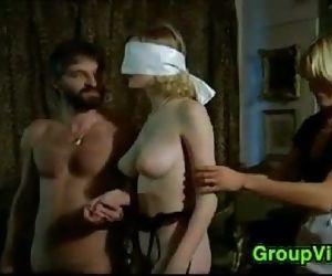 Blindfolded Blonde..