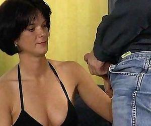 German brunette fuck..