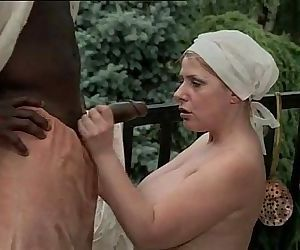 Black slave hitting on..