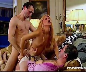 Dina Pearl Gets a DP in..