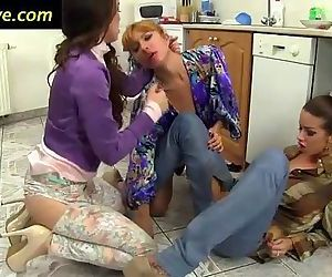 Lesbo fisted and rimmed