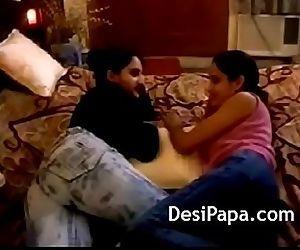 Big Tits Indian Lesbian..
