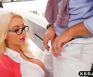 Horny businesswomen..