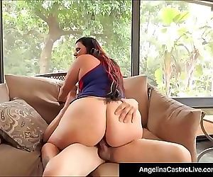 Curvy Cuban Angelina..