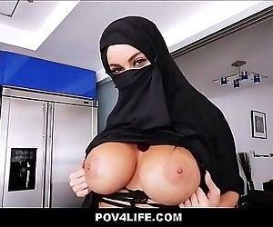 Busty Arabic Teen..
