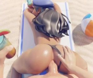 Overwatch - Ana fucked..
