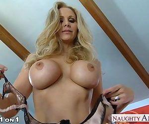 Blonde housewife Julia..