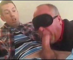 Daddy sucking a..