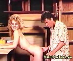 Eighties retro fuck movie
