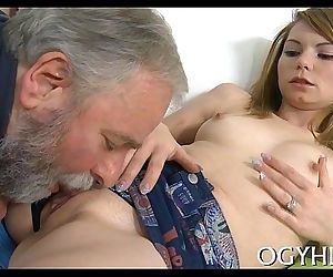 Old stud seduces young..