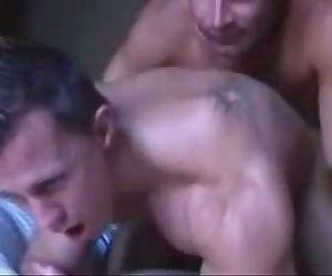 Muscle guys play around..