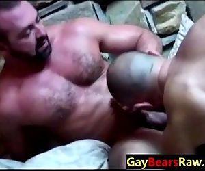 Throat fucking raw gay..
