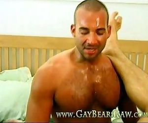 sweaty gay bears Jesse..