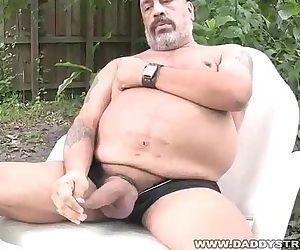 Joe Jerks His Fat Tool..