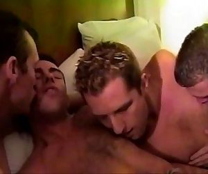 Hunks cock sucking..