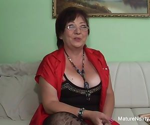 Insatiable mature keeps..
