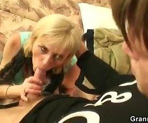 Granny prostitute..