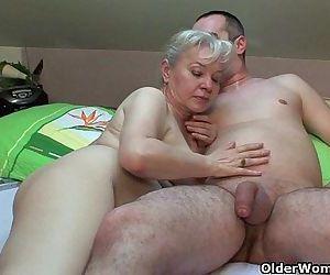 Grandma in heat needs..