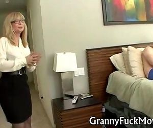 Granny shows how it is..