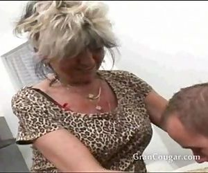 Sexy old granny wants..