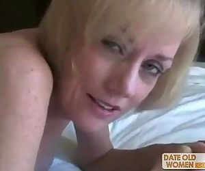 Nasty ass horny granny..