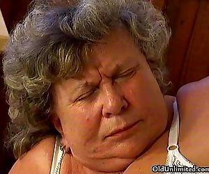 Horny grandma loves..