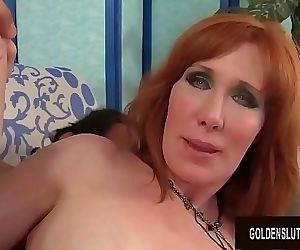 Mature Redhead Freya..