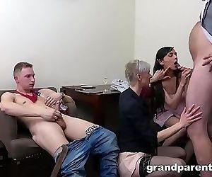 Grandpas vs Teens Crazy..