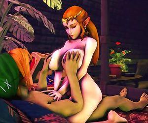 Zelda Rides..