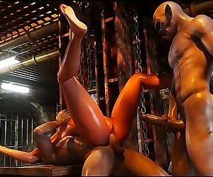 Gross Sensual 3D..