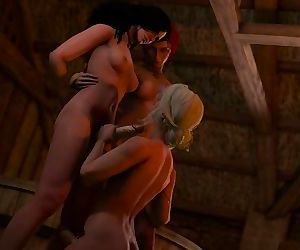 Witcher 3 blowjob ft..
