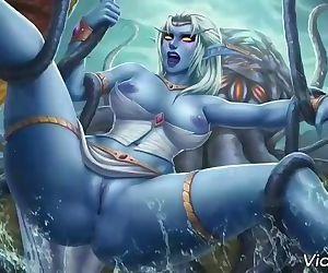 Warcraft hentai..