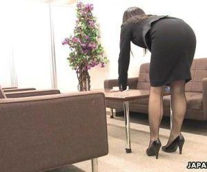 Asian office worker..