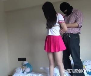 Chinese Schoolgirl Tied..