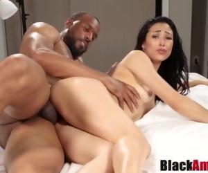 Curvy Asian Mia tricked..