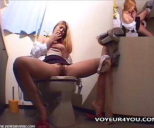 Toilet Masturbation..