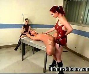 2 Mistresses Fuck a..