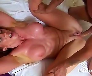 Toned housewife gets..