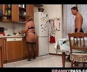 BBW Granny Sex 8 min
