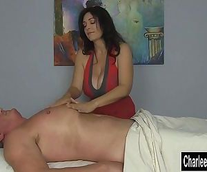 Charlee Chase Squeezes..