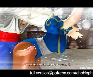 Chun-Li Fucked By Vega..