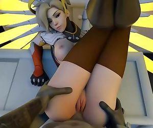 Mercy Anal Overwatch