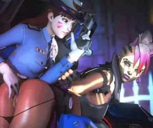 Officer D.VA X Sombra..