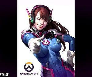 Overwatch D.Va Hentai..