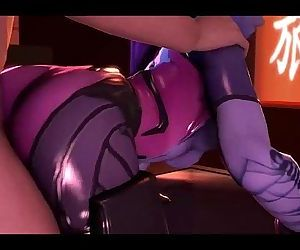 Widowmaker Anal and..